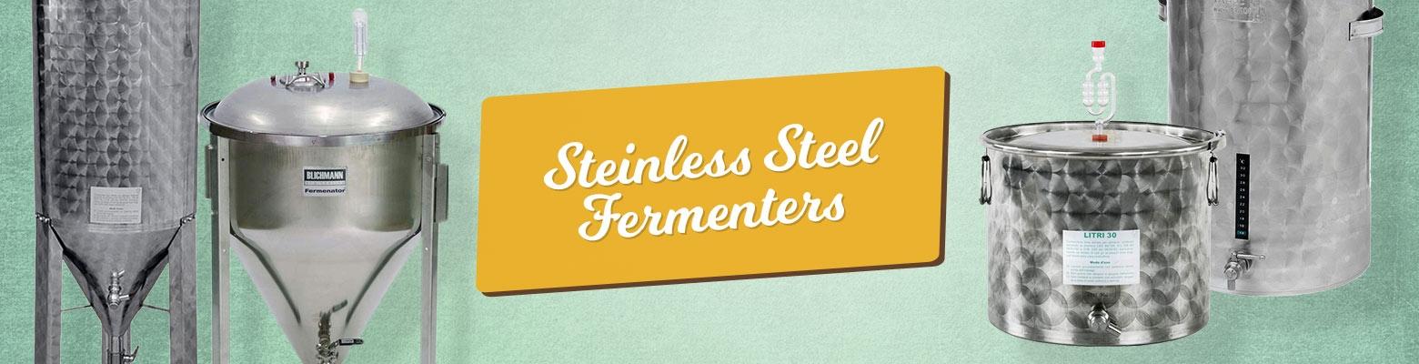 Stainless Steel Fermenters